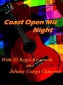 Coast Open Mic with guest John Goudge