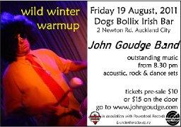 Wild Winter Warmup 19 August 2011