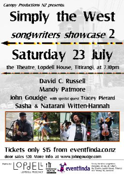 Simply the West songwriters showcase 2